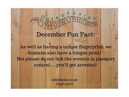 OsteoFact: December