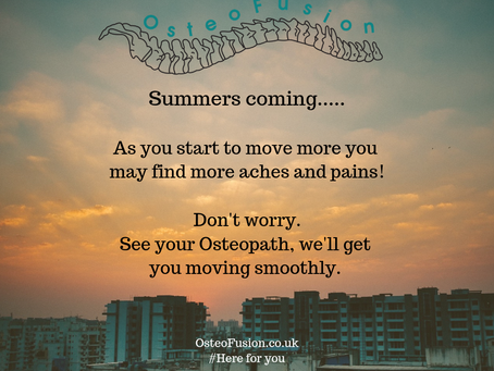 OsteoSnapshot : Summer....