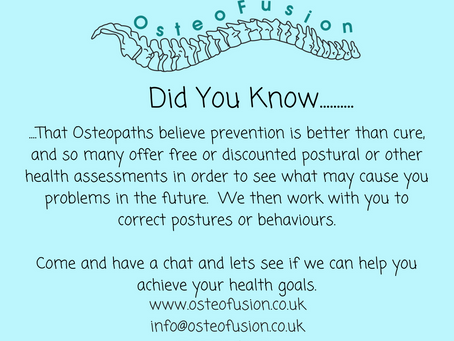 OsteoPost: Prevention....