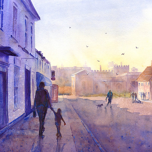 Signed, Limited Edition Print - Sunny Morning - Kimbolton