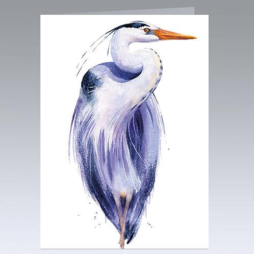 Highfalutin Heron card