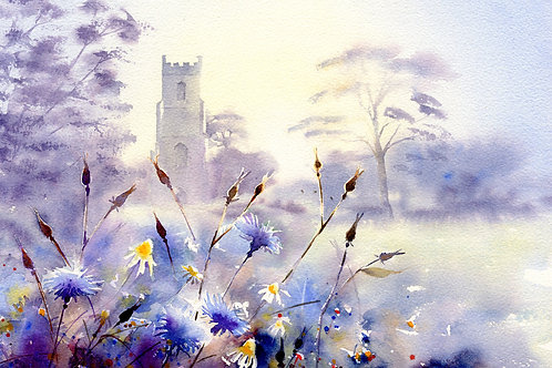Signed, Limited Edition Print - St. Andrews Church, Abbots Ripton