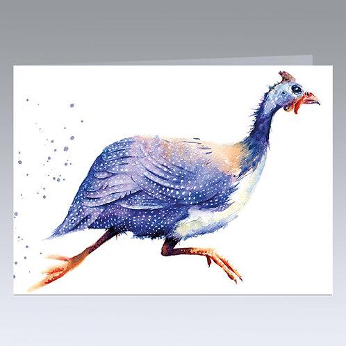 Meep Meep! (Guinea Fowl) card