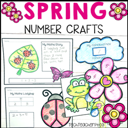 Spring Math Craft Activities