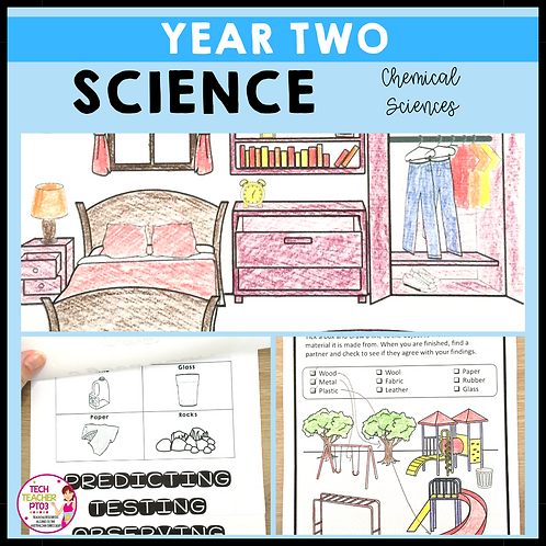 Science Year 2 Chemical Sciences