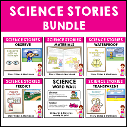 SAVE 20% Science Story Bundle