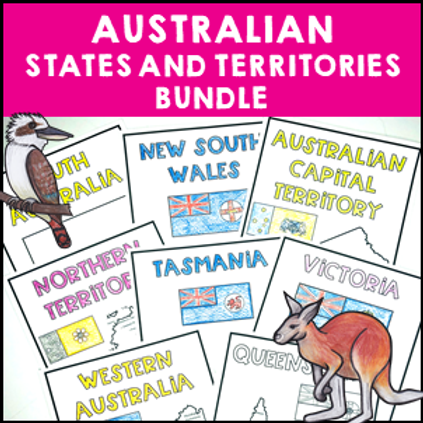 Australian States and Territories Bundle