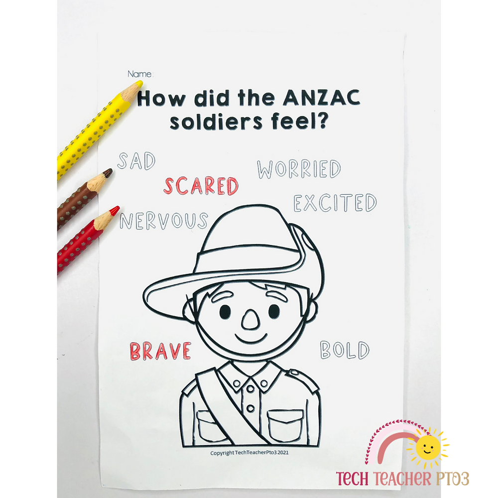 ANZAC Teaching ideas for early primary students in Australia. Help students with HASS and the ACARA curriculum with these classroom craft and lesson ideas.