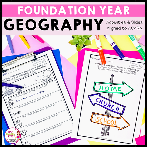 Foundation Year Geography