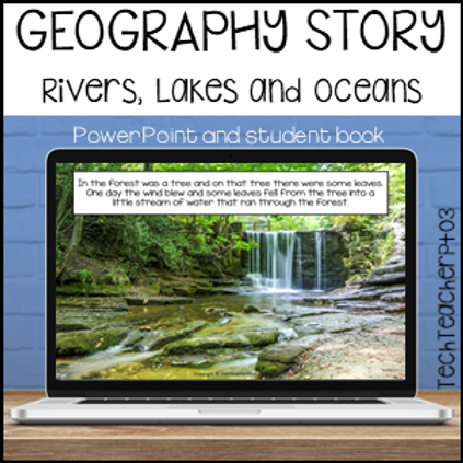 Geography Story Rivers Lakes Oceans