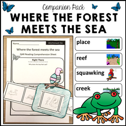 Where the Forest Meets the Sea Literacy Activities