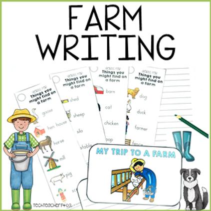 Farm Writing Activity