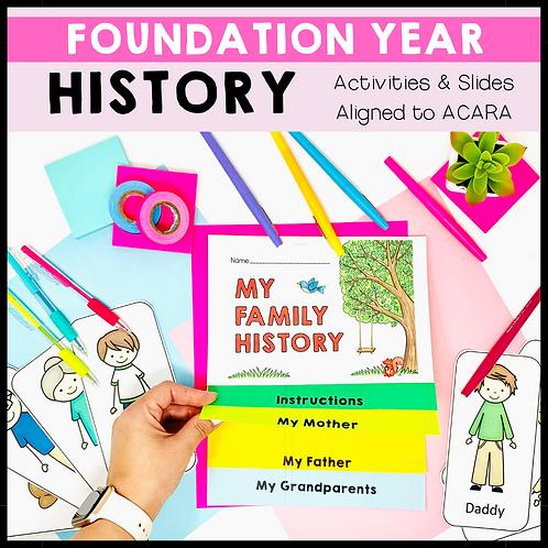 Foundation Year History