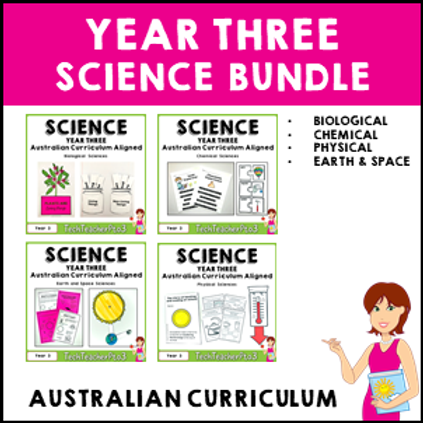 SAVE 20% Year 3 Science Bundle