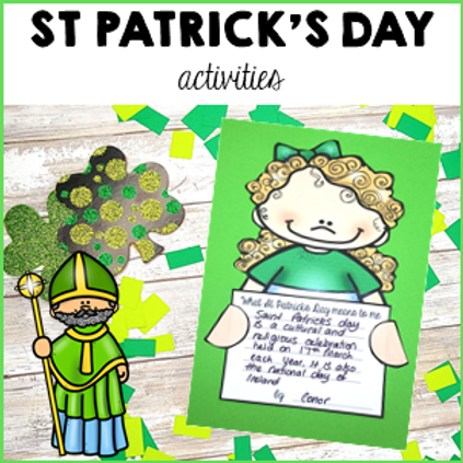 St Patrick's Day Activity Pack