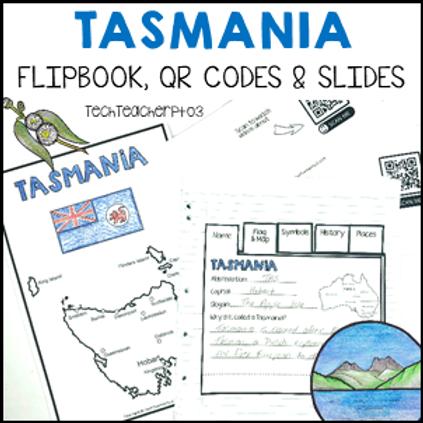 Tasmania Interactive Notebook and Slides
