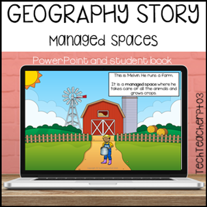 Geography Story Managed Spaces