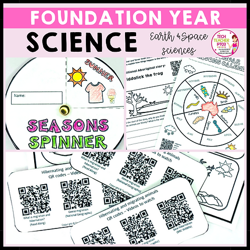 Science Foundation Year Earth and Space Sciences