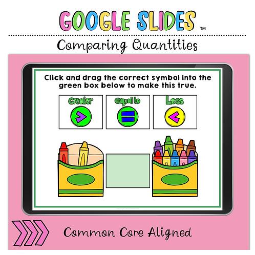 Comparing Quantities Google Slides™ Activity