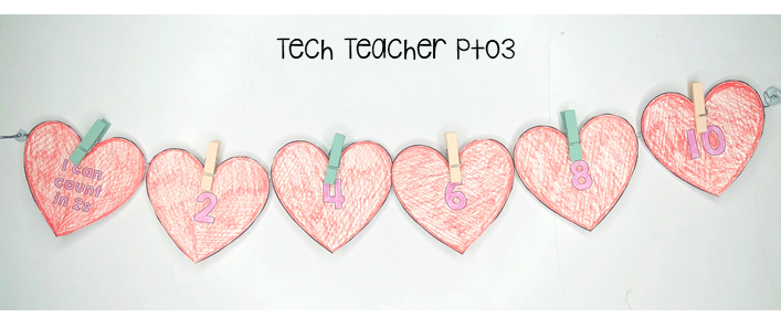Tech Teacher Pto3 Valentine's Day craft