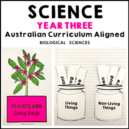 Science Year 3 Biological Sciences