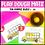 Thumbnail: Play Dough Number Mats Ten Frames School Buses 1 to 20