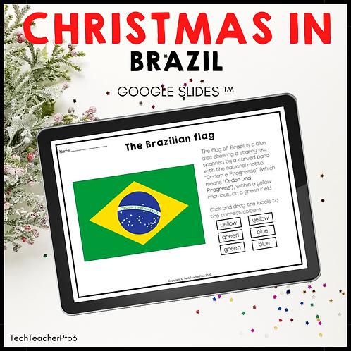 Christmas in Brazil Google Slides ™ Holidays Around the World