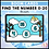 Thumbnail: Find the Number 0-20 Winter BOOM LEARNING CARDS Activity