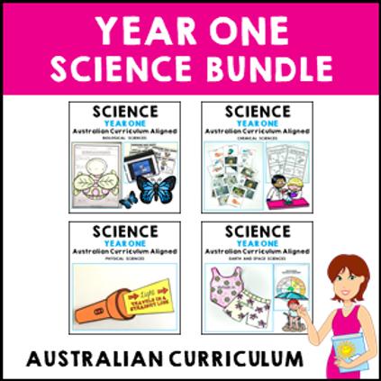SAVE 20% Year 1 Science Bundle