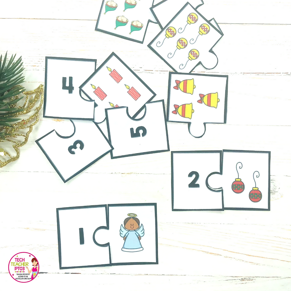 11 Easy Christmas literacy and math center ideas for make your lessons easy during the holiday season.