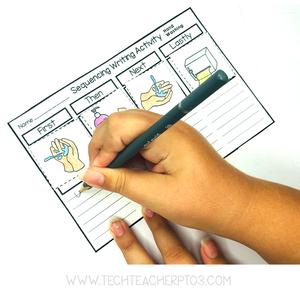 Free teacher handwashing activity