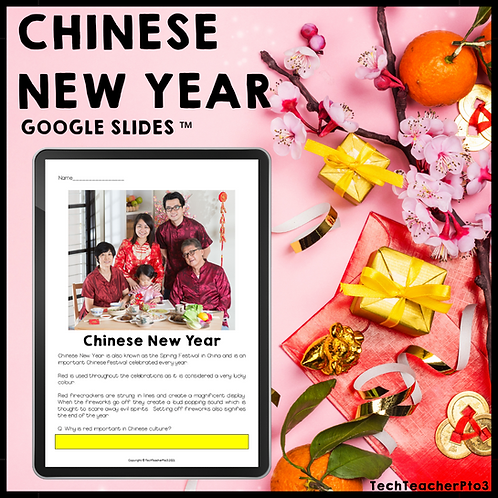 Chinese New Year Google Slides ™ Distance Learning