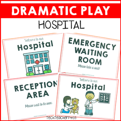 Dramatic Role Play Hospital