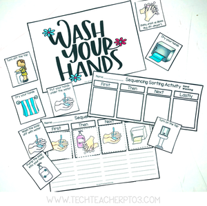 Free Washing Hands Download for teachers