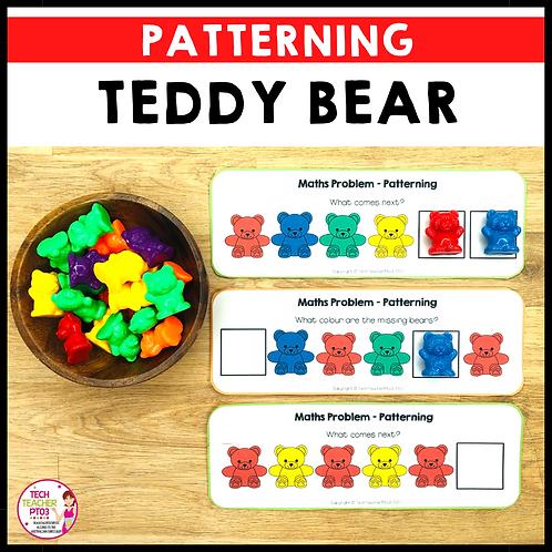 Teddy Bear Patterning Cards