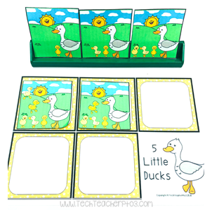Nursery Rhyme Counting Activities
