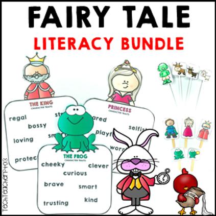 SAVE 20% Fairy Tale Literacy Activities Bundle