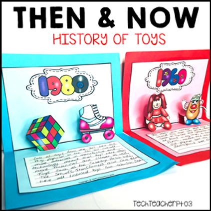 Long Ago and Today / Then and Now Social Studies History of Toys