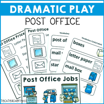 Dramatic Role Play Post Office