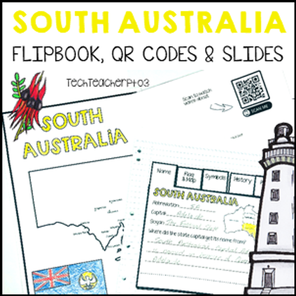 South Australia Interactive Notebook and Slides
