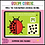 Thumbnail: Make the Teen Number Ladybug 11 to 19 BOOM LEARNING CARDS Activity