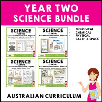 SAVE 20% Year 2 Science Bundle