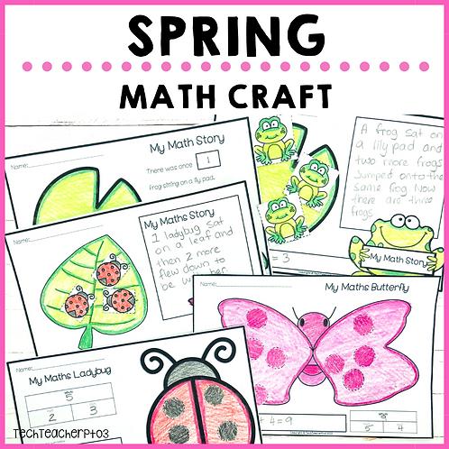 Spring Math Craft Activities