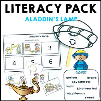 Aladdin's Lamp Literacy Activities