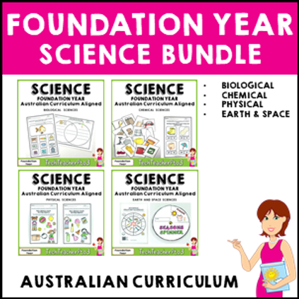 SAVE 20% Foundation Year Science Bundle