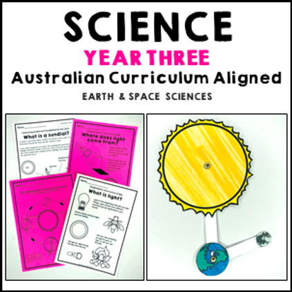 Science Year 3 Earth and Space Sciences