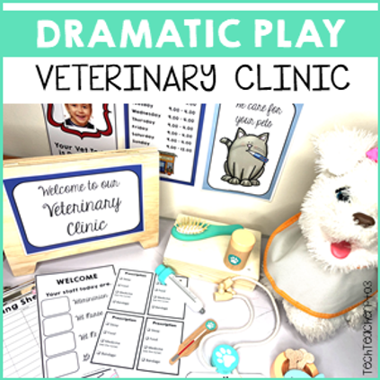 Dramatic Role Play Veterinary Clinic