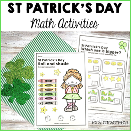 St Patrick's Day Math Centres