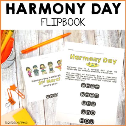 Harmony Day Activities Flipbook