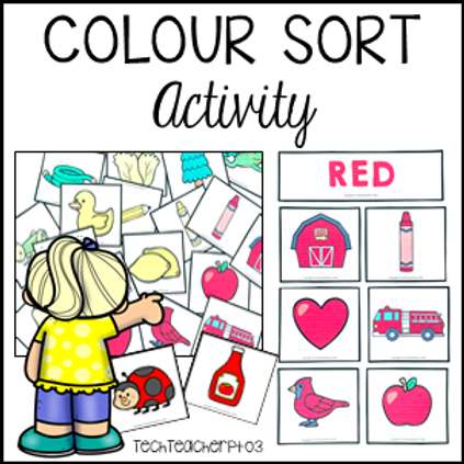 Colour Matching Activity